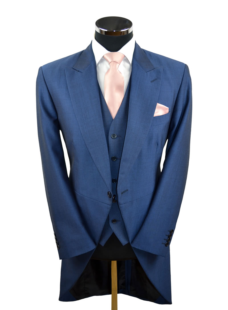 Royal Blue Lightweight Tailcoat