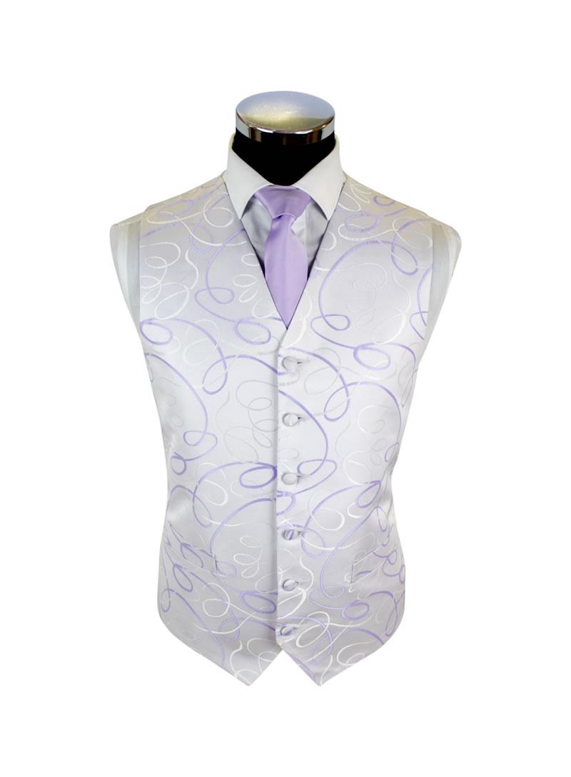 Mexico Lilac Lilac Satin Tie